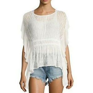 Free people June lace top M